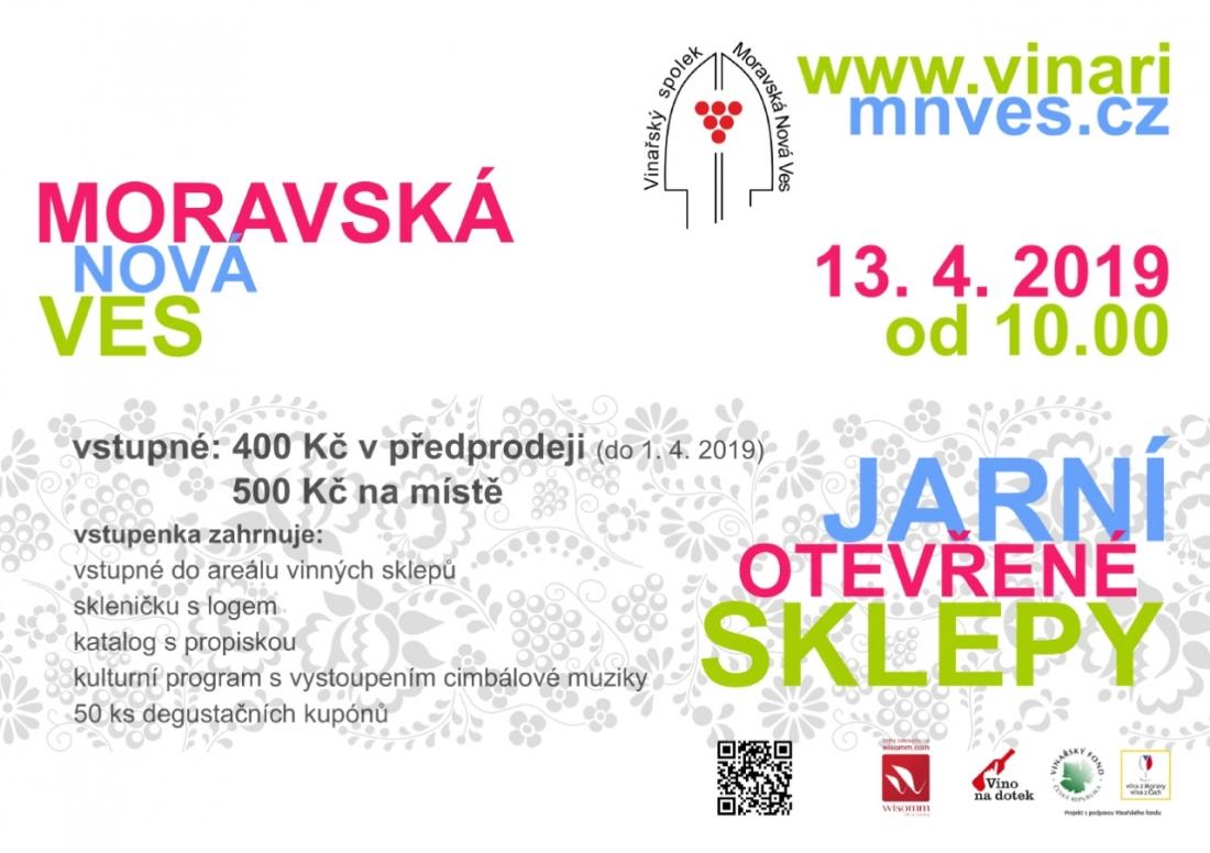 Jarní otevření sklepy v Moravské Nové Vsi - 13. dubna