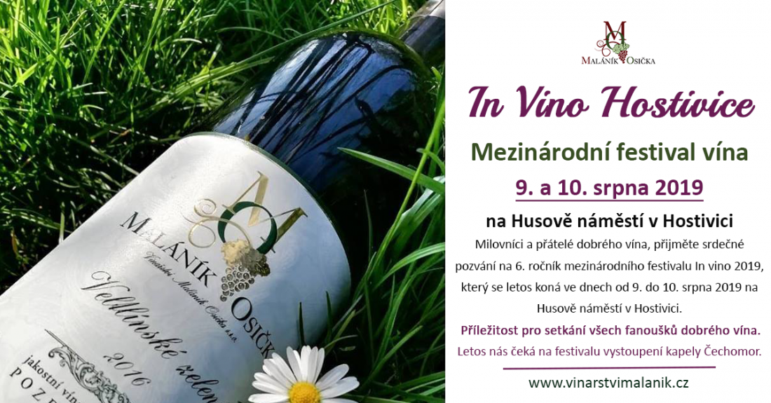 In vino Hostivice 2019 & Vinařství Maláník-Osička