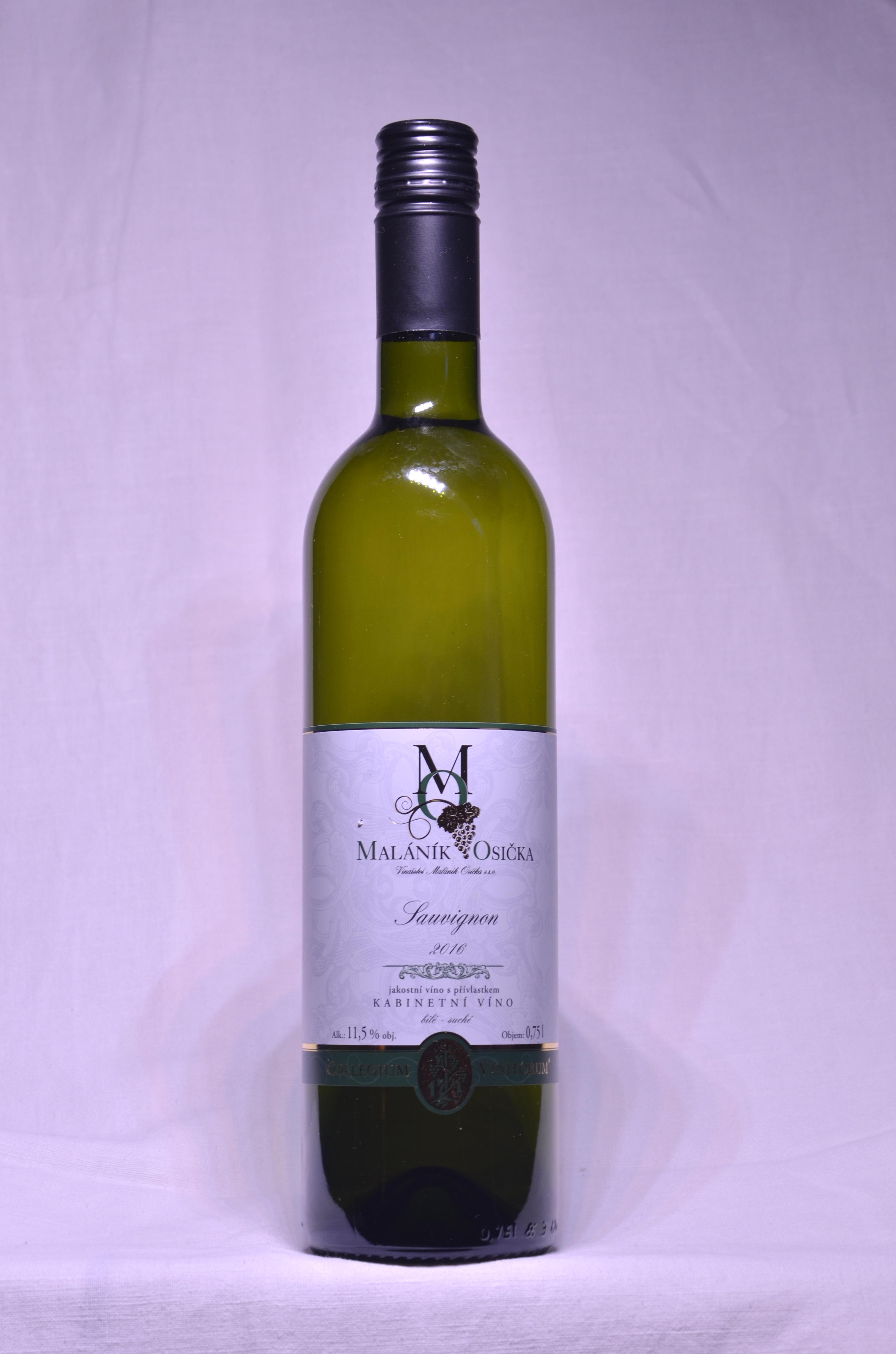 produkt_Sauvignon 2016 Kabinetní víno