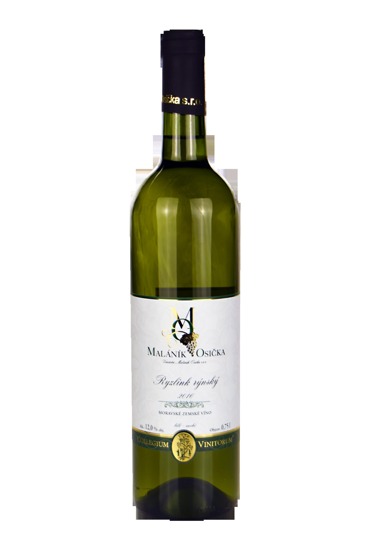 produkt_Ryzlink rýnský 2016 Moravské zemské víno