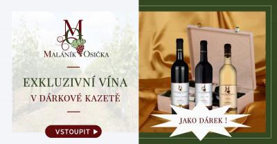 3ks vína Pálava VH-19. Exkluzivní víno. Dárková kazeta C1.