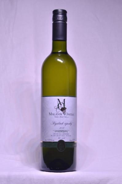 Ryzlink rýnský 2016 Kabinetní víno