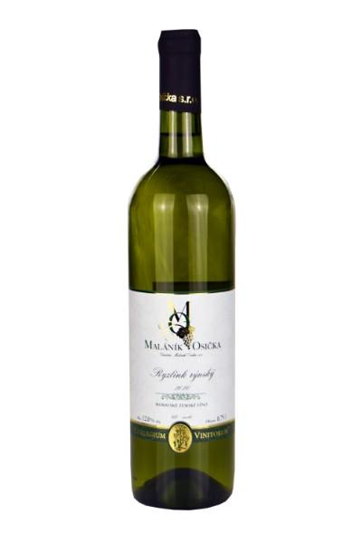 Ryzlink rýnský 2016 Moravské zemské víno