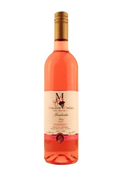 produkt_ROSÉ Frankovka 2017 Kabinetní víno, suché