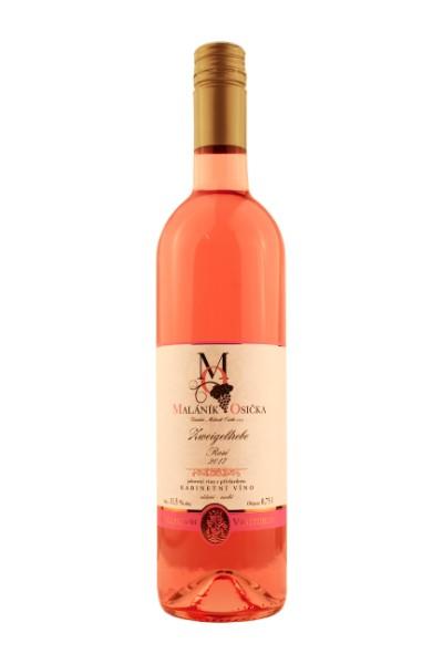 produkt_ROSÉ Zweigeltrébe 2017 Kabinetní víno, suché